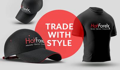 Reklamní zboží HotForex