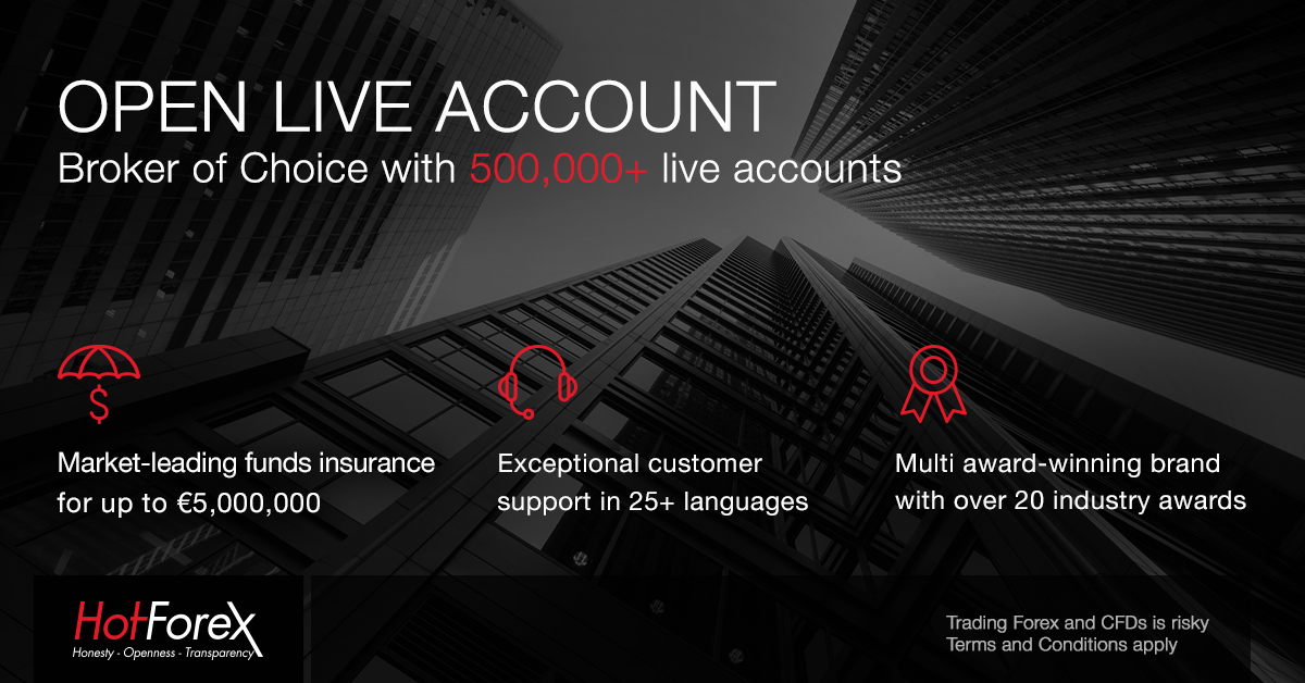 Open live account